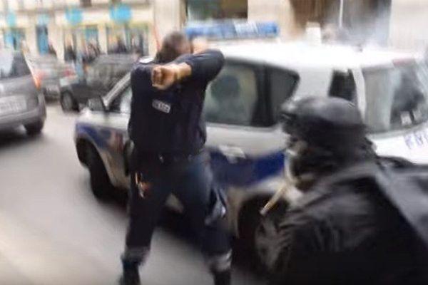 Le policier antillais à la voiture incendiée devient héros du net
