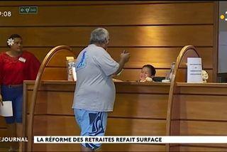 La réforme des retraites est en marche