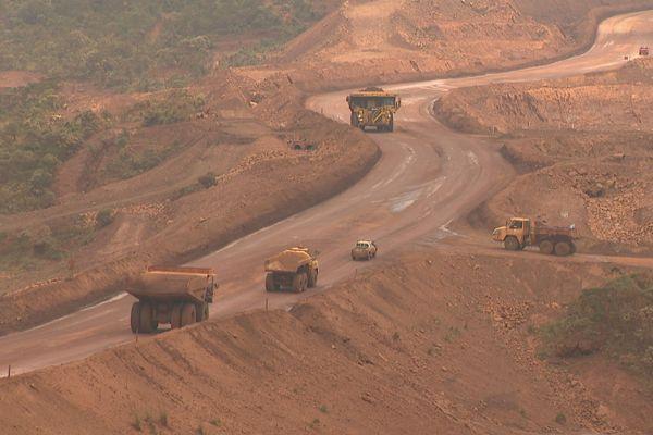 Vale usine du Sud mine