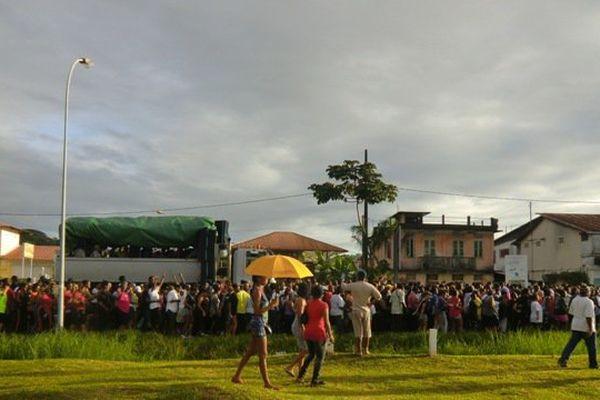 Le premier vidé de l'année 2016 à Cayenne