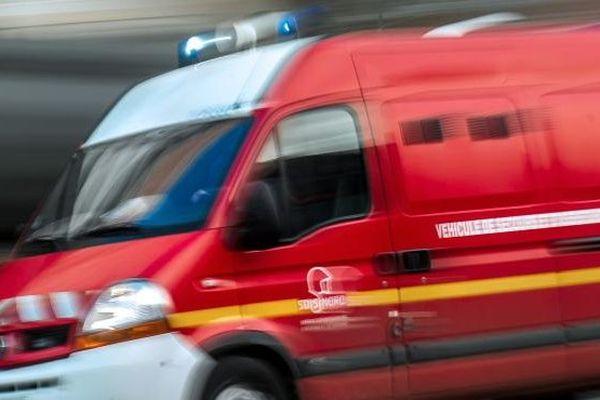 Sapeurs-pompiers en intervention