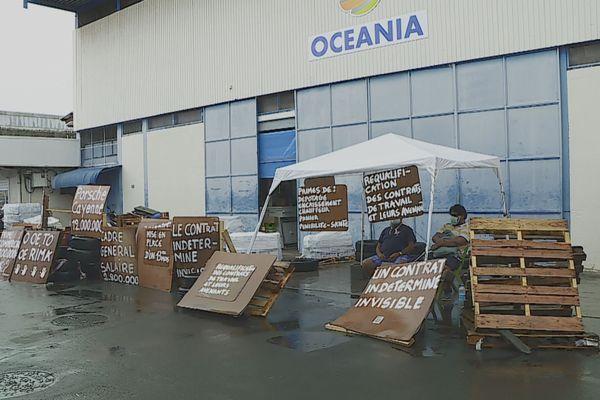 grève Oceania