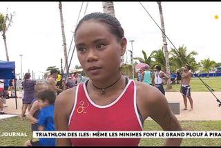 Triathlon : Quand les minimes se surpassent comme les « grands »
