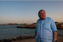 Gérard Depardieu, le 24 octobre 2020 à El Gouna (Egypte).