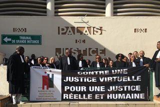Mobilisation du barreau de la Guadeloupe