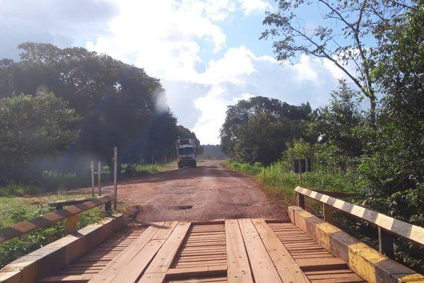 Pont sur la BR 156