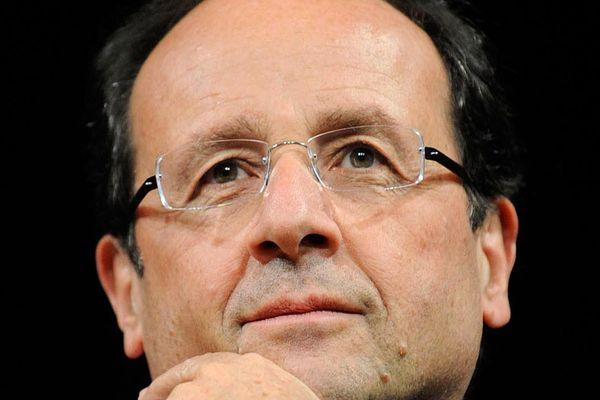 François Hollande, le nouveau président de la république