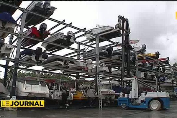 Les ports de plaisance parés face au risque cyclonique