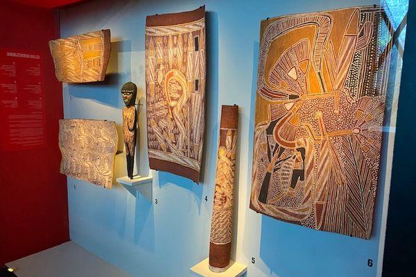 Expo art aborigène Gularri