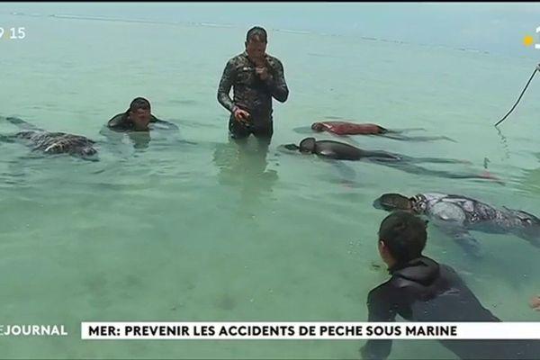 Mer: Prévenir les accidents de pêche sous-marine