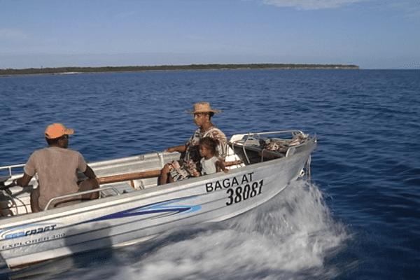 Départ pour la pêche à la dérive