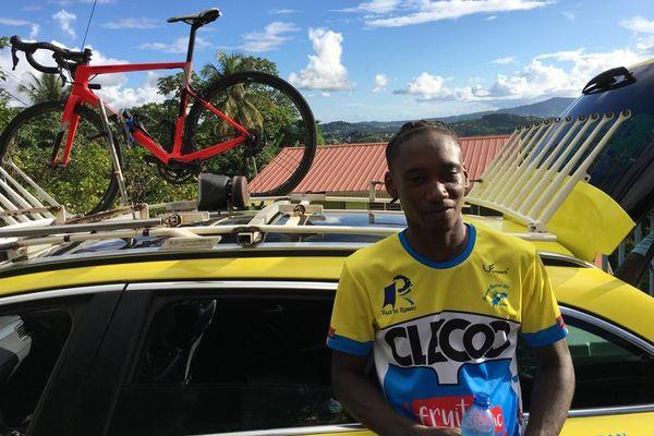 Victoire de Steven Risal de la JC 231 (catégorie Junior) au championnat de cyclisme de Martinique