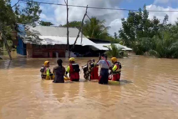 Inondations à Saint-Laurent le 8 août