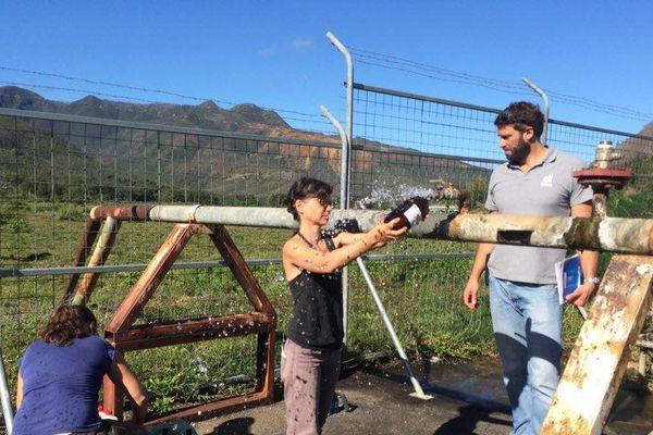Analyse de l'eau du captage de la SLN à Kouaoua