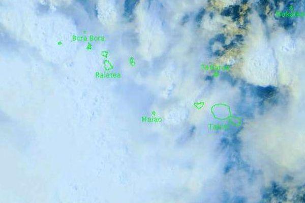 Les îles de la Société passent en vigilance orange