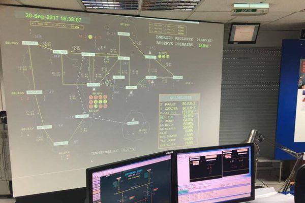 Organe central de conduite d'EDF