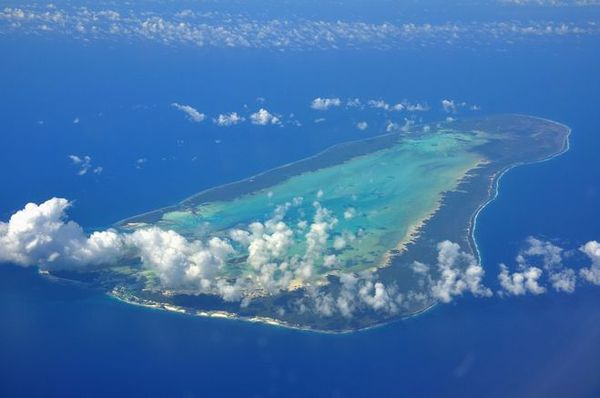 Atoll Aldabra aux Seychelles