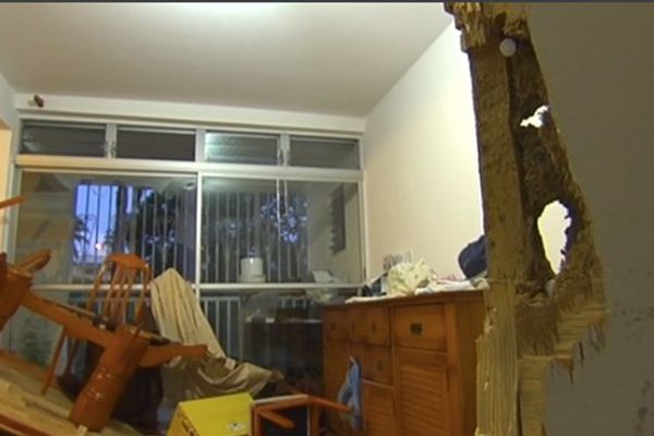 Appartement saccagé