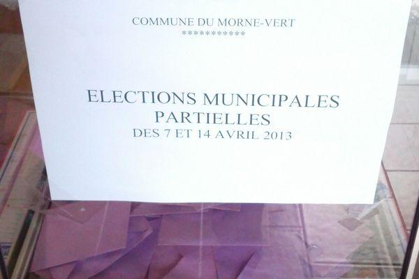 Morne-Vert élection