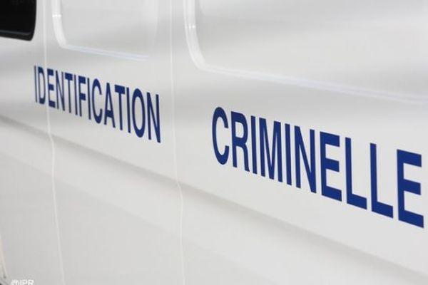 Les gendarmes de l'identification criminelle.