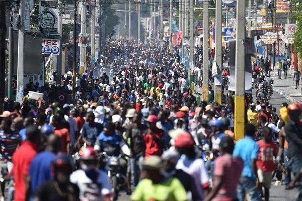 manif haiti lundi 11 fevrier