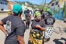 Ils étaient plus d'une cinquantaine de bénévoles réunis pour amener la paix à Kawéni