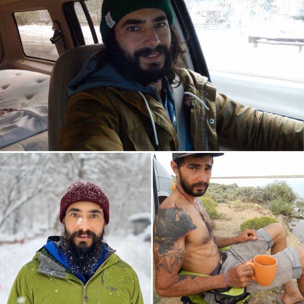 Epris de liberté, Chris vit dans un van et parcourt les Etats-Unis