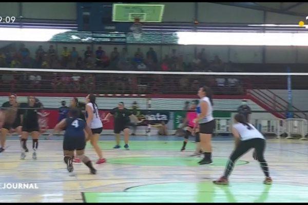 Finales du championnat de volley ball à la Fautaua