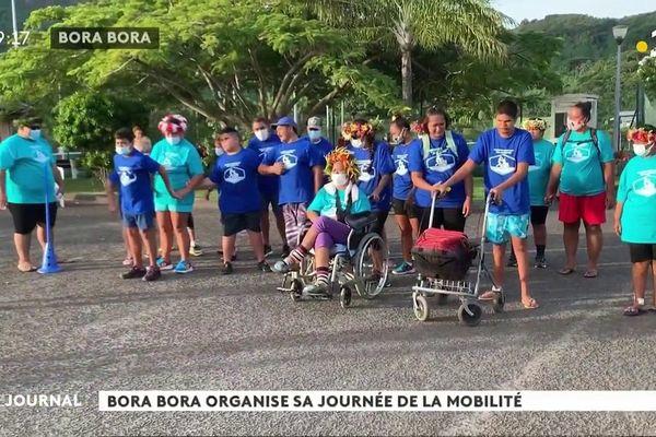 Journée de la  mobilité à Bora Bora