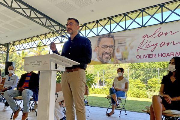 Régionales 2021 liste Olivier Hoarau Ansanm colistiers 090521