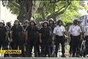Tensions au premier jour de grève des agents communaux