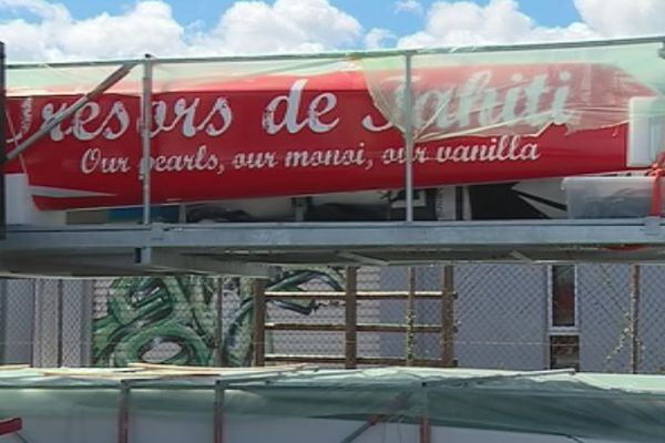 Voile : Trésor de Tahiti de retour sur le fenua!!!