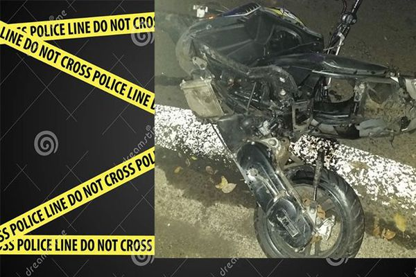 accident moto contre voiture