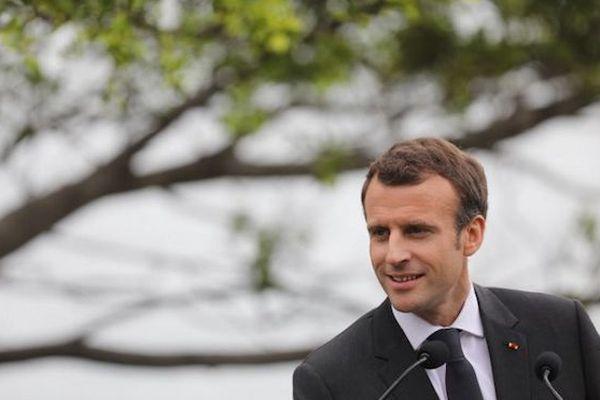 Emmanuel Macron à Sydney