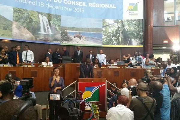 Ary Chalus, élu président de la Région Guadeloupe