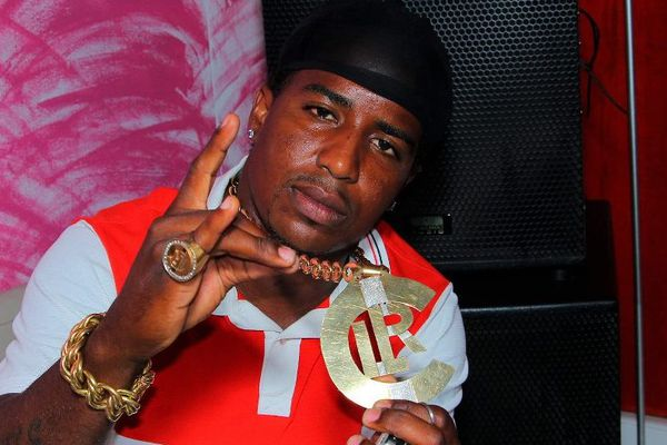 """Jimmy Laurent, alias """"Gambi G"""". Membre du groupe de rap baie-mahaultien """"Chien Lari""""."""