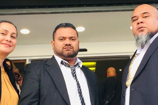Les 3 élus de l'eveil oceanien au congrès de la nouvelle-calédonie