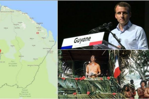 En visite en Guyane, Emmanuel Macron ira à Maripasoula, commune de l'ouest où Jacques Chirac s'était rendu en 1975.