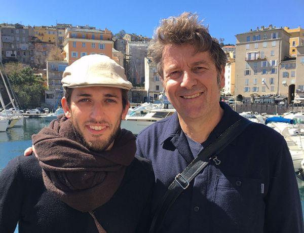 Gael Henry et Frédéric Lavabre au festival BD de Bastia (Corse)