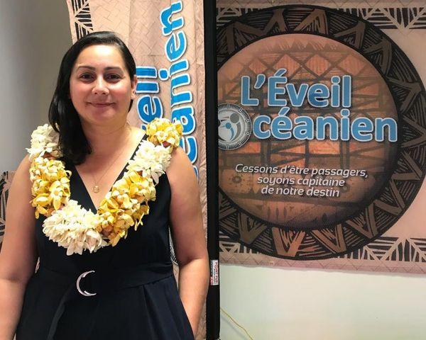 Eveil océanien aux municipales, Veylma Falaeo à Nouméa