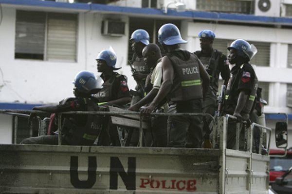 Police Nations Unies Haïti