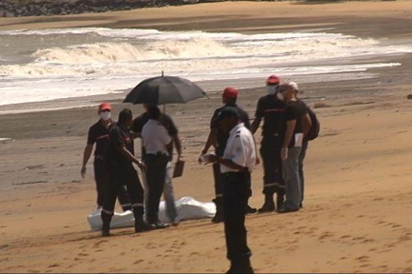 Macabre découverte sur la plage de Montabo