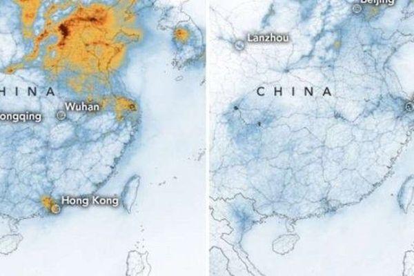La Chine vue du ciel en janvier et février 2020