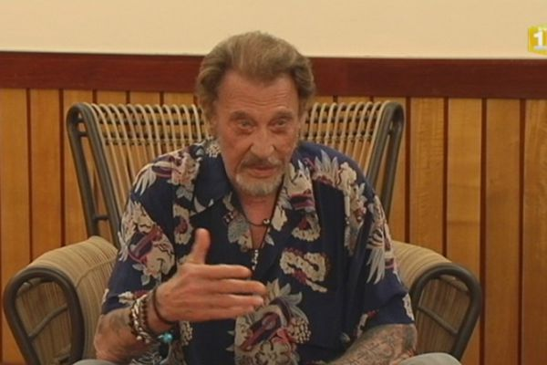 Johnny Hallyday Tahiti