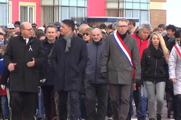 Marche en hommage des victimes des attentats