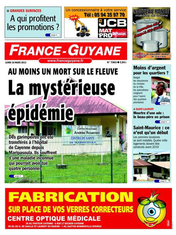 Une France Guyane 18 mars