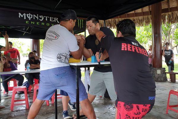 championnat Tahiti bras de fer