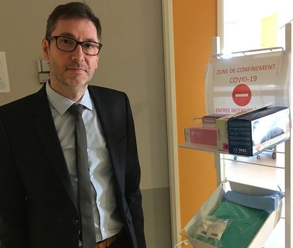 Patrick Lambruschini, directeur du CHFD