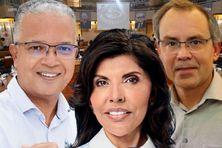Trois candidats pour une présidence.