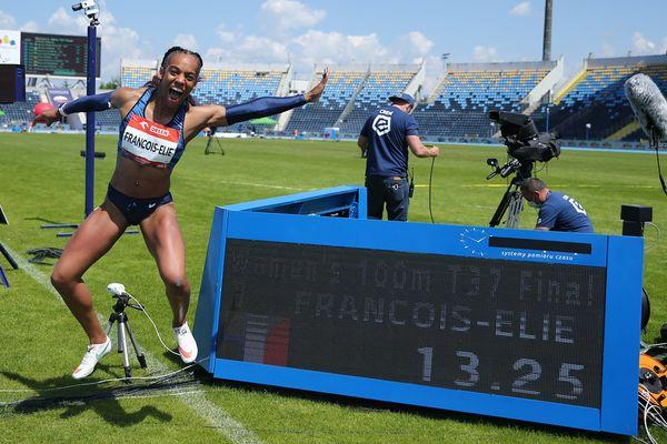 Mandy François-Elie 100m Pologne